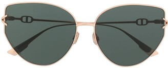 Christian Dior DiorGipsy1 butterfly-frame sunglasses