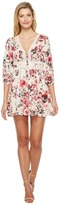 Brigitte Bailey Tasia Button Up Dress with Lace Inset