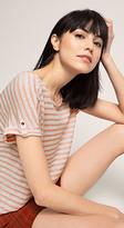 Esprit OUTLET oversized striped t-shirt