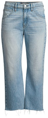 Hudson Sloane High-Rise Baggy Crop Stud Jeans