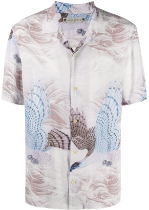 AllSaints Abstract-Print Shirt