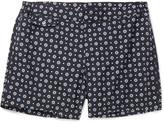 Incotex Short-Length Floral-Print Swim Shorts