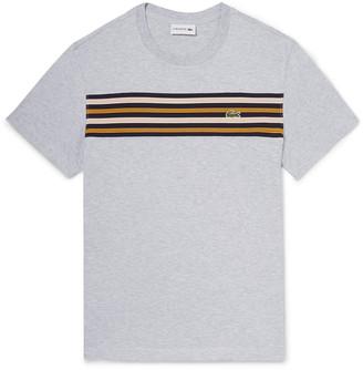 Lacoste Striped Pima Cotton-Jersey T-Shirt