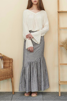 Muse by Rose Crepe Flowy Blouse