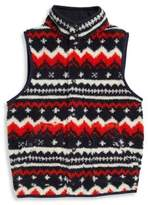 Ralph Lauren Little Boy's Fleece Printed Vest