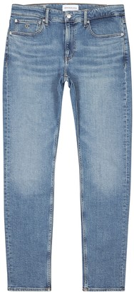 Calvin Klein Jeans Light blue slim-leg jeans