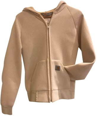Carhartt White Cotton Jacket for Women