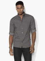John Varvatos Mayfield Cheetah Sport Shirt