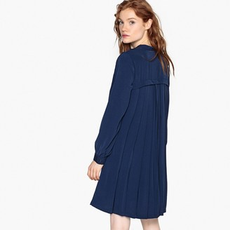 La Redoute Collections Pleated Shift Dress