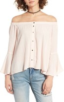 Astr Women's Amelia Off The Shoulder Top