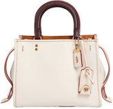 Coach Small Rogue Pebble Leather Bag