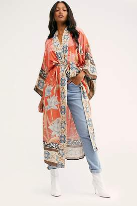 Free People Spell And The Gypsy Collective Cherry Blossom Kimono by Spell and the Gypsy Collective at