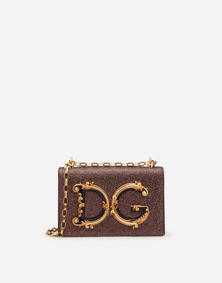 Dolce & Gabbana Lame Girls Shoulder Bag