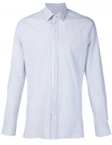 Lanvin striped placket trim shirt