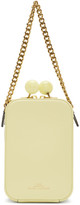 Marc Jacobs Yellow The Vanity Bag