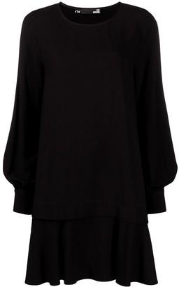 Love Moschino Asymmetric Shift Dress