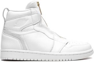 Jordan Air 1 zip-up sneakers