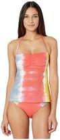 Soluna Swim SOLUNA SWIM Moonlight Rib Tankini (Creamsicle) Women's Swimwear