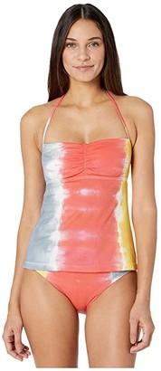 SOLUNA SWIM Moonlight Rib Tankini (Creamsicle) Women's Swimwear