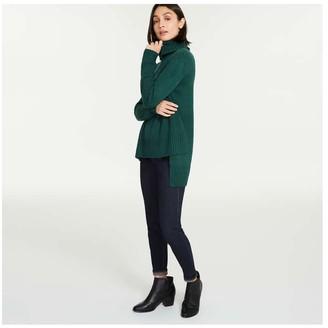 Joe Fresh Women's Turtleneck Sweater, Fuchsia (Size XL)