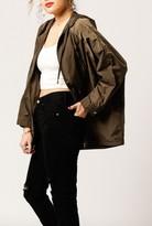 Azalea Oversized Rain Jacket