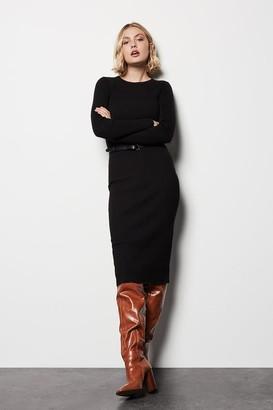 Karen Millen Skinny Rib Knit Dress