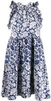 Ulla Johnson floral patchwork Talita dress