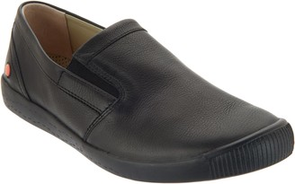 Fly London Leather Slip-on Shoes - Ika