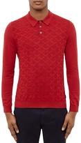 Ted Baker Electro Jacquard Knit Regular Fit Polo