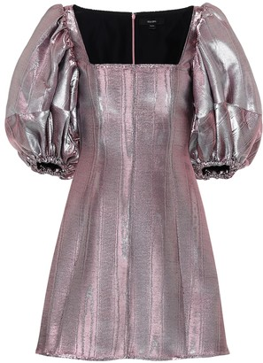 Ellery Lady D'arbanville metallic minidress