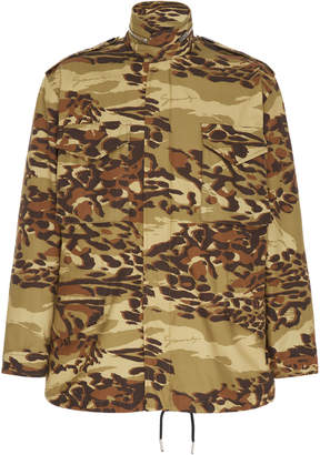 Givenchy Camouflage Cotton Field Jacket