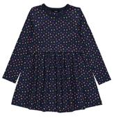 George Heart Print Jersey Dress