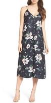 Bardot Women's Hibiscus Print Midi Dress