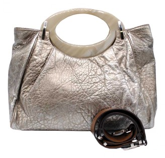 Marni Silver Leather Handbags