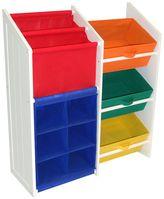 RiverRidge Kids Super Storage Bins, Cubbies & Bookshelf Unit