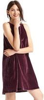 Gap Velvet swing dress