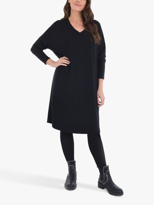 Live Unlimited Curve Knee Length Sweat Dress