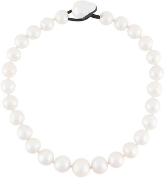Monies Jewellery Pearl Embellished Necklace