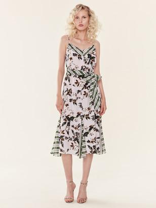 Diane von Furstenberg Ciella Silk Midi Dress