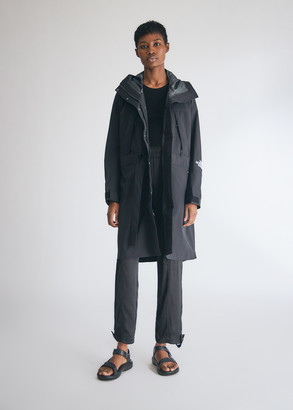The North Face Black Women's Futurelight Trench Coat in Black, Size Small