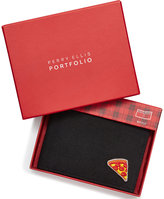 Perry Ellis Men's Pizza Emoji Bifold Wallet