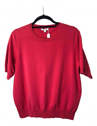 Dagmar Pink Cotton Top for Women