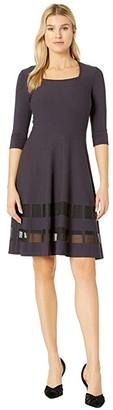Nic+Zoe Charming Twirl Dress (Nightshade) Women's Dress