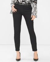 White House Black Market Jacquard Slim Ankle Pants