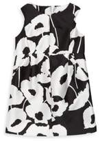 Milly Minis Girl's Poppy Floral Print Coco Dress