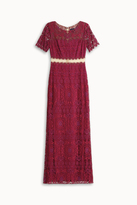 Marchesa Lace Gown