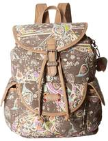 Sakroots Artist Circle Small Flap Backpack Backpack Bags