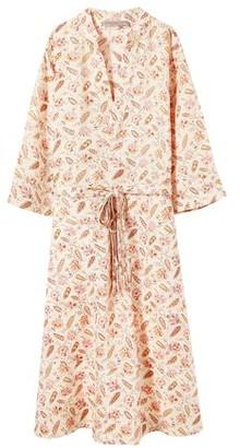Vanessa Bruno Printed Linen Nova dress