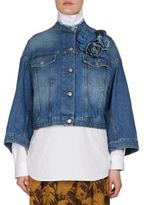 Dries Van Noten Cotton Denim Jacket