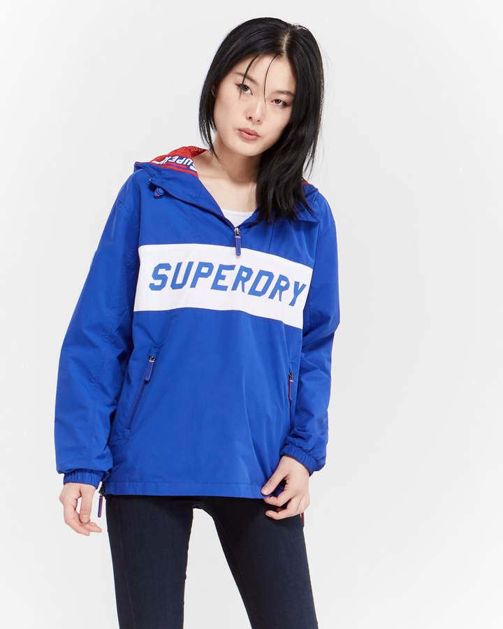 Superdry Half-Zip Hooded Jacket